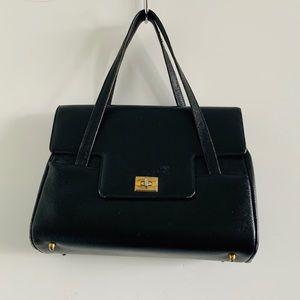 Handbags - Vintage Black & Gold Mastercraft Purse